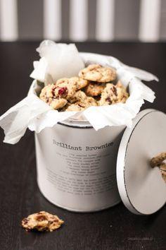 Chocolate Chip Cookies mit Cranberries und Pecannüssen + Give-Away {Dein Lieblingsladen/geschlossen} – Dreierlei Liebelei