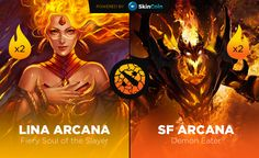 Win great Dota 2 Arcanas