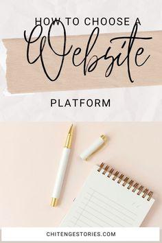 Build Your Own Website, Website Themes, Blogger Templates, Free Website, Website Builders, Wordpress, How To Look Better, Platform, Business