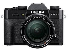 Introducing Fujifilm XT10 Black Mirrorless Digital Camera Kit with XF1855mm F2840 R LM OIS Lens. Great product and follow us for more updates!
