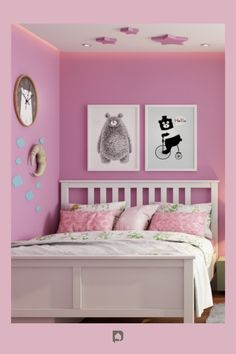 Pink paint colour walls: pink colour room ideas are ruling the roost. Pick them for your home right away! Read now. // paint color walls // pink paint colors // pink paint color walls // pink paint color ideas // pink painting design ideas #pink #paint #color #ideas #pinkpaint #pinkpaintcolor #pinkpaintcolorwalls Bedroom Wall Paint Colors, Pink Paint Colors, Room Wall Painting, Pink Painting, Wall Colors, Wall Paint Colour Combination, Color Walls, Small House Interior Design, Modern Color Palette