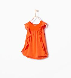 ZARA - ENFANTS - T-shirt à volants