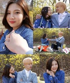 Sungjae And Joy, Sungjae Btob, Wgm Couples, Cute Couples, Couple Aesthetic, Korean Aesthetic, Ulzzang, Yongin, We Get Married