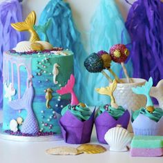 Live Out Your Dreams With These 11 *Gorgeous* Mermaid Cakes
