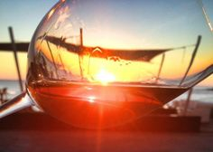 sunset with sherry wine we love it!
