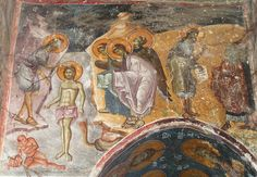 Frescoes Old Nagorichno centuries. Life Of Christ, Byzantine Icons, 14th Century, Christian Art, Macedonia, Fresco, Pictures, Painting, Beautiful