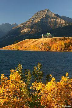 * Waterton National Park, Alberta Canada