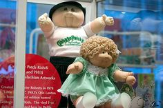 Cabbage Patch Kids - created 1978 by Xavier Roberts