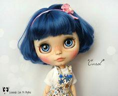 """Custom Blythe doll """"Carol"""" by Cosiendo Con Mi Blythe"""