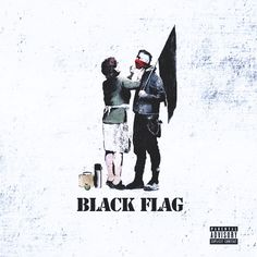 MGK Black Flag Album Cover.
