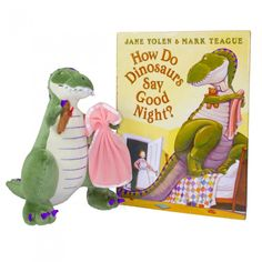 How Do Dinosaurs Say Goodnight gift set