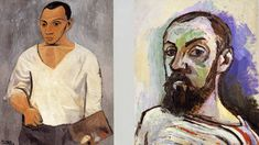 Picasso and Matisse,  discussion of their relationship and side-by-side comparison of some of their similar work.