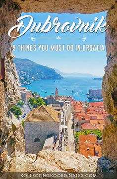 9 Must-Do's in Dubrovnik #croatia #dubrovnik #kingslanding #gameofthrones #lokrum