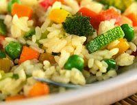 Cantinho Vegetariano: Arroz com Legumes (vegana)