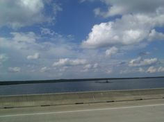 picture from the bridge in beaumont !