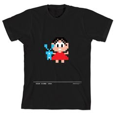 Camiseta Turma da Mônica 50 Anos - Modelo 6 Anos 80 Preta