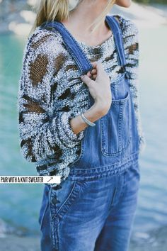 What Bethany Wore // Summer to Fall // Denim Overalls — Treasures & Travels