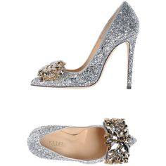 Gedebe Women Pump on YOOX. The best online selection of Pumps Gedebe.COM exclusive items of Italian and international designers - Secure payments Stiletto Shoes, High Heels Stilettos, Women's Pumps, Shoes Heels, Sparkly Shoes, Glitter Shoes, Silver Glitter, Crazy Shoes, Me Too Shoes