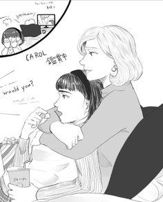 Love is love Yuri, Actors, Fan Art, Rooney Mara, Drawings, Movie Posters, Cate Blanchett, Good Movies, Lesbian