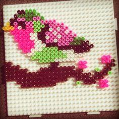 Bird hama beads by creabeamehihi