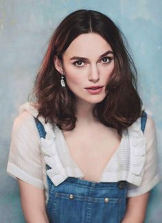 I love dungarees. I'm a massive fan of them. I wear the dungarees so much that I've now got three pairs, because it was getting to the point where I was like, 'You have to wash them, Keira.'