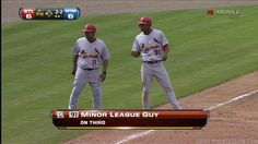 Funny - Fox Sports Net didn't even know who the runner on third for the STL Cards was
