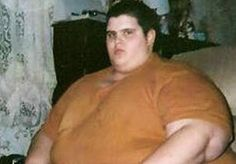 Image: Video still of Justin Willoughby before his 550-pound weight loss (Courtesy of 'Today')