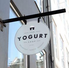 The Yogurt Shop by Louise Skafte, via Behance