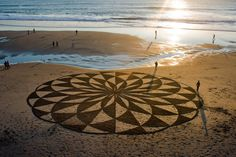 The Incredible Beach Art of Andres Amador