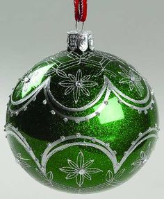 Holiday Heirloom Ornaments Evergreen Cascade Ball - Boxed by Waterford Crystal Christmas Puzzle, Christmas Tree Themes, Christmas Balls, Christmas Things, Christmas Ornaments, Holiday Decorations, Christmas Ideas, Painted Ornaments, Stained Glass Projects