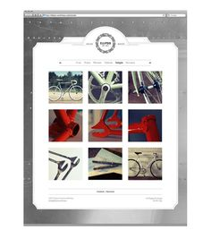 Ellipsis Fixed Gear Workshop by Ooli Mos, via Behance