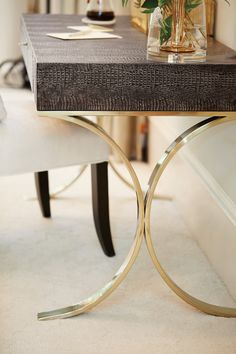 Jet Set Desk | Bernhardt www.aftershocksinteriordecorating.com