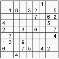 Pasatiempos para Imprimir: Sudoku nº 155