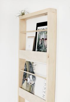 DIY Wood Wall Organizer - The Merrythought