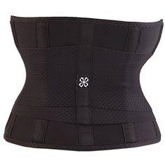 Women Body Shaper Waist Slimming Cincher Sport Training Xtreme Tummy Girdle Belt at Amazon Women's Clothing store: