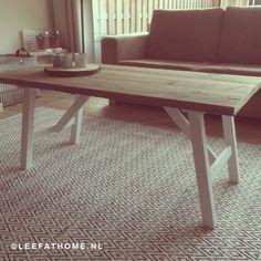 Salontafel van steigerhout een aanwinst voor uw woonkamer!
