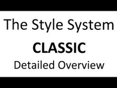 CLOSED My most popular program! I highly advise you want the overview video for a detailed look at what's inside - watch the video to learn more about it! #TheStyleSystem #course #registernow #classic  http://thestylesystem.com/open-registration-june/