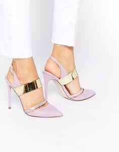 ASOS – PENNY – Spitze High Heels