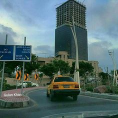 Bahria Icon tower Karachi beauty, Sindh Pakistan