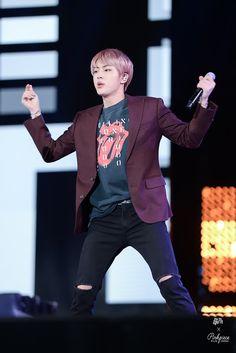 Jin ❤ Korean Music Wave DMC Festival #BTS #방탄소년단