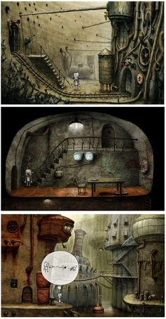 machinarium laboratory