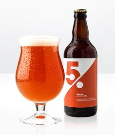 Five Per Cent #beer #label #number
