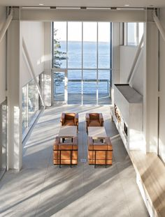 Two Hulls House, #NewScotland - @mlsarchitects #livingroom
