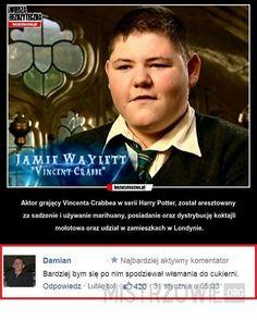 Memy z Harrego Potter'a ; w Losowo- # Losowo # amreading # books # wattpad Harry Potter Comics, Harry Potter Fandom, Harry Potter Memes, Wtf Funny, Funny Memes, Jokes, Polish Memes, 5 W, Hogwarts