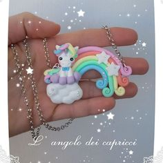 #unicorno #raimbow #fantasy #creations #fimo #polimer #policlaycreations #clay #arcobaleno #vivereacolori #unicorn #fimocreations