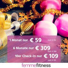 Fitness & Wellness zu Weihnachtspreisen!