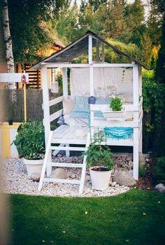 Machen Sie Ein Entzückendes Gartenspielhaus Oder Sie Verschüttete In Ihrem  Hinterhof Mit Diesem Einfachen Im Freien DIY Projekt. Source By Brit