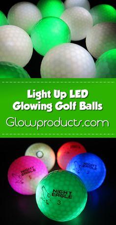 Bright Glowing LED Golf Balls! - https://glowproducts.com/us/light-up-led-golf-balls