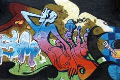 Longwood Graffiti Mural, Bronx, New York City