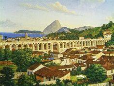 DE ARTE EM ARTE : PINTURAS E FOTOGRAFIAS DE AQUEDUTOS - OS ARCOS DA LAPA OU AQUEDUTO DA CARIOCA NO RIO DE JANEIRO E OUTROS AQUEDUTOS